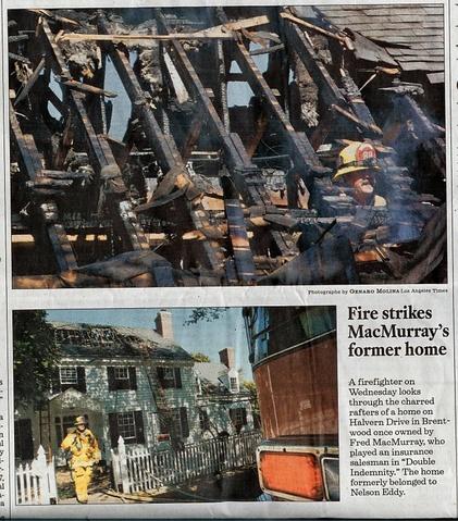 Nelson Eddy Halvern Home Fire 2010
