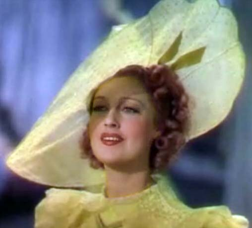 Jeanette MacDonald from the film Sweethearts