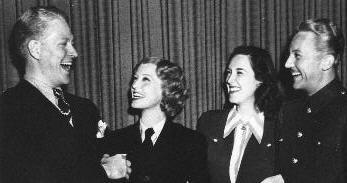 Nelson Eddy, Jeanette MacDonald, Rise Stevens, Gene Raymond