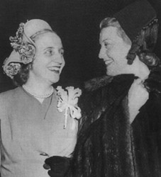 Margaret Truman and Jeanette MacDonald