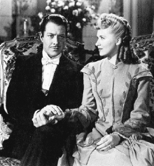 Nelson Eddy and Susanna Foster in Phantom of the Opera (1943)