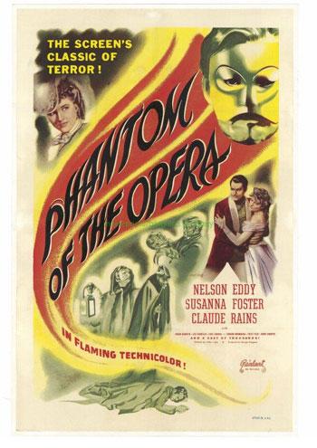 Susanna Foster, dead at 84 Phantom Opera Star Nelson Eddy