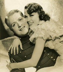 Nelson Eddy and Eleanor Powell in