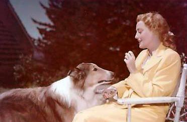 Jeanette MacDonald & Lassie in The Sun Comes Up (1949)