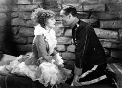 Jeanette MacDonald and Maurice Chevalier in The Merry Widow