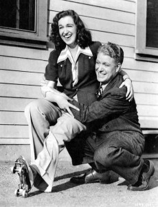 Rise Stevens said she admired Nelson Eddy's sense of humor.