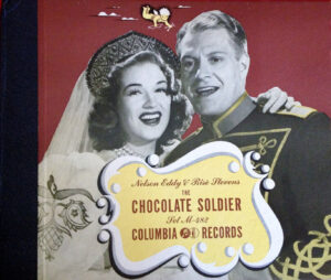 Nelson Eddy & Rise Stevens Chocolate Soldier record album