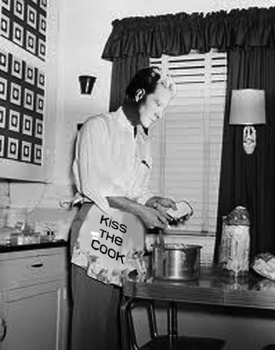 Nelson Eddy cooking