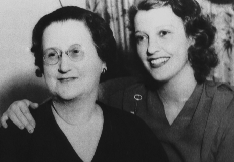 Jeanette MacDonald and her mother Anna