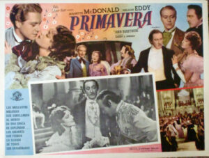 Maytime Spanish lobby card